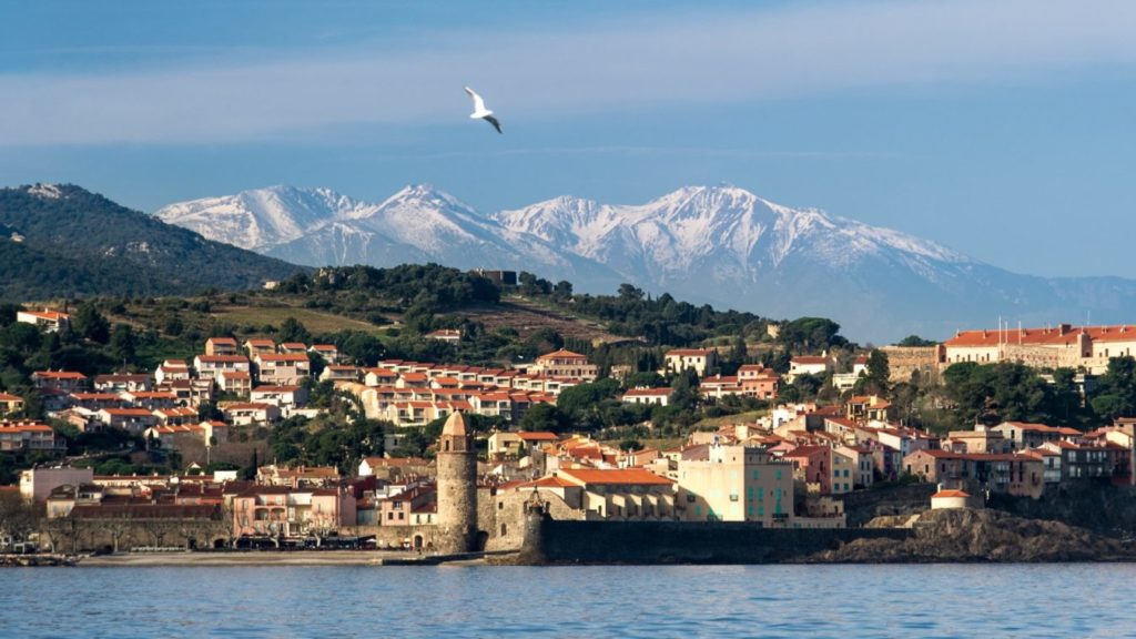 Collioure - Medieval french town by the sea